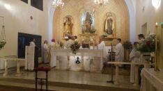 Una imagen de la eucaristía. /DOS