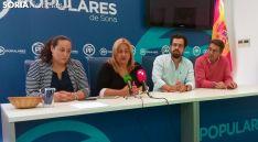 Miriam Martínez (izda.), Yolanda de Gregorio, Eduardo Carazo y Jesús Peregrina. /SN