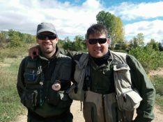 Foto 2 - Juan Pablo Martínez y José Antonio Montero ganan el IX Master de Pesca a mosca por parejas Río Duero