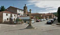 Una imagen del casco urbano de la localidad. /GM