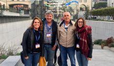 Paulino Herrero (2º izda.) con los representantes españoles. /SSPA