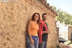 Pilar Moreno y Ángel Navarro le ponen una sonrisa a la adversidad. SN
