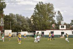 Debud del CD San José Femenino en Soria.