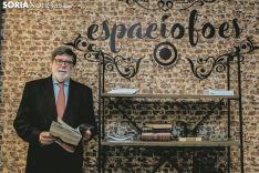Santiago Aparicio, presidente de FOES y CECALE. Carmen de Vicente