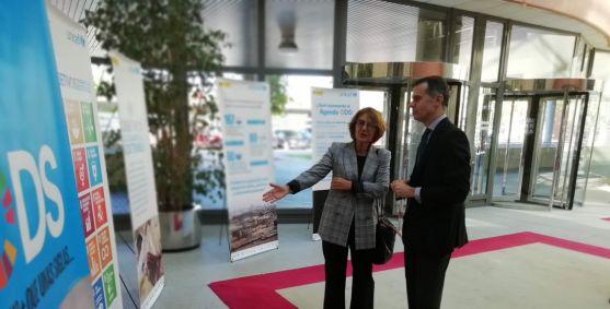 Exposición sobre los Objetivos de Desarrollo Sostenible. Junta de Castilla y León