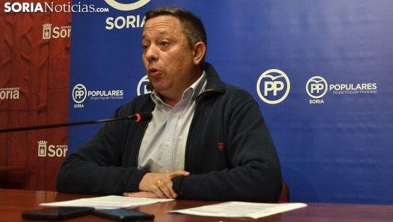 Adolfo Sainz, este martes en rueda informativa. /SN