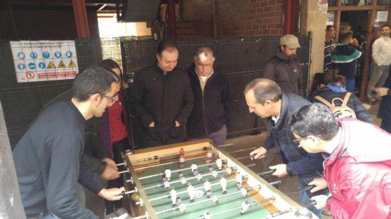 El Burgo de Osma se vuelca con la actividad 'En medio de la guerra, escuelas para la paz'. Diócesis Osma-Soria