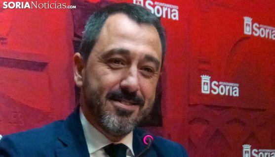 Javier Muñoz, concejal de Hacienda este miércoles. /SN