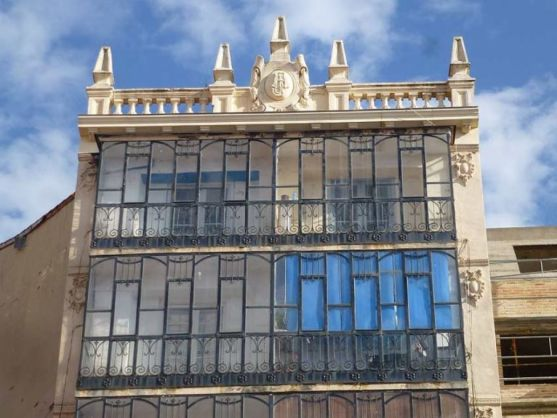 Representación modernista en Soria.