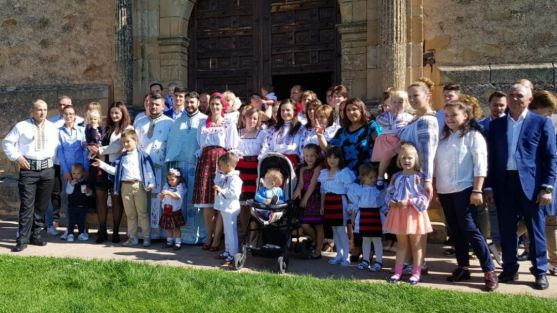La Diócesis se suma a la celebración del patrón de la Iglesia Ortodoxa Rumana en el Mirón de Soria. Cedida