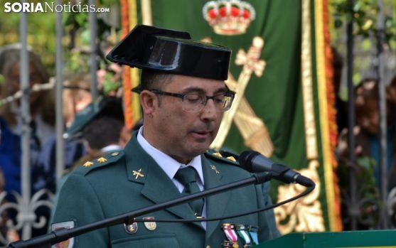 Andrés Velarde, en su alocución este viernes en la capital soriana. /SN