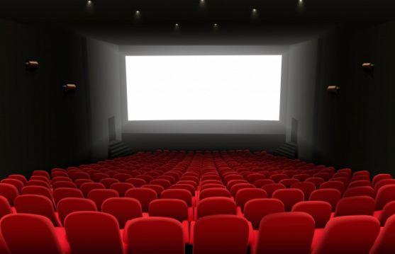 Sala de cine. Imagen de archivo
