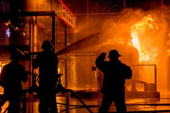 Incendio. Imagen de archivo.