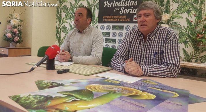 Jesús Javier Andrés y Paulino Herrero.