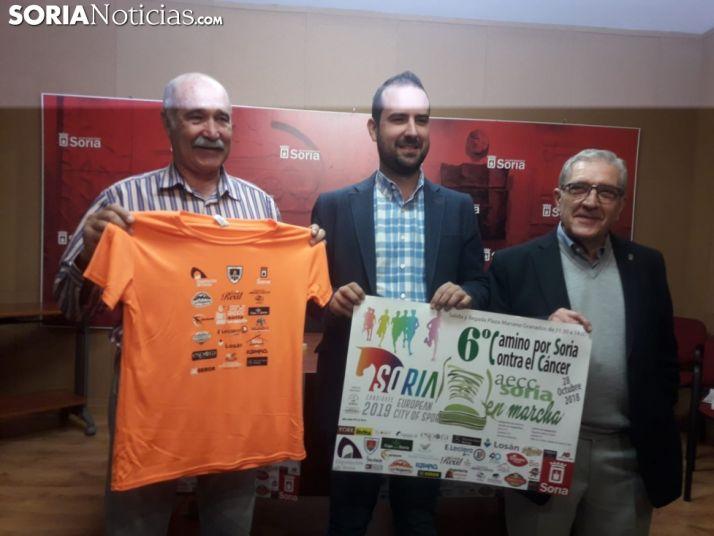 De derecha a izquierda, José Manuel Serrato, Ángel Hernández y Fernando Ligero. SN