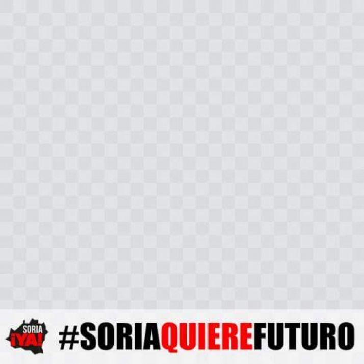 #SoriaQuiereFuturo, en Facebook.
