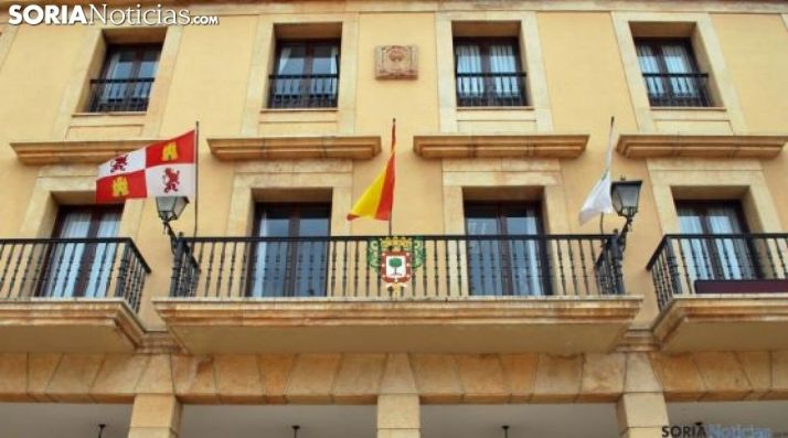 Imagen del consistorio adnamantino. /SN