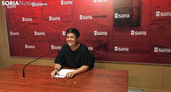 Ana Alegre, concejala de Servicios Sociales. /SN
