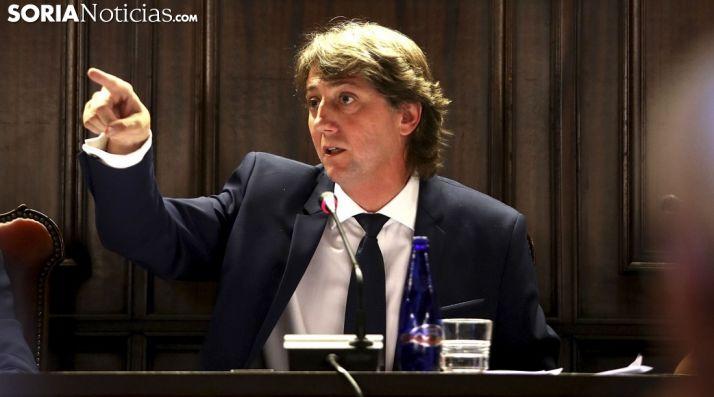 El alcalde de Soria en una imagen de archivo.