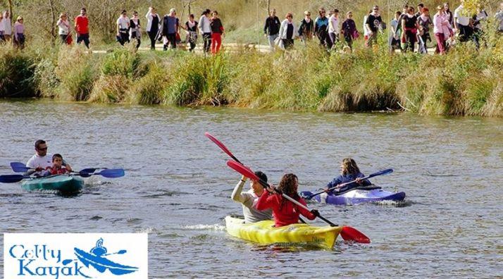 Foto 1 - Celtykayak acompañará por el Duero con sus canoas el Camino contra el Cáncer