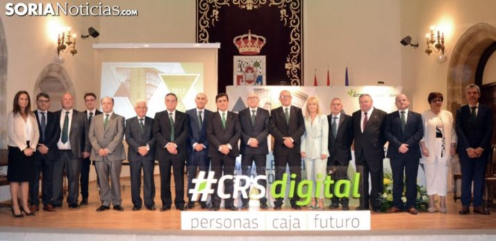 El Consejo de Caja Rural de Soria. /SN