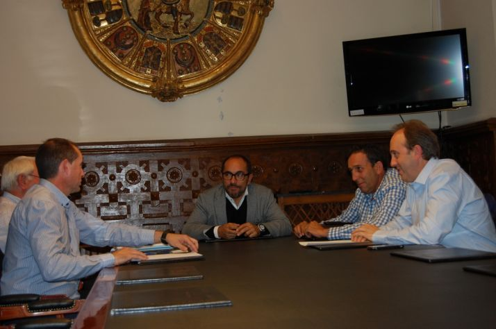 Reunión entre Diputación y APORSO.