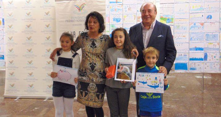 Imagen de la entrega de premios. /FPN
