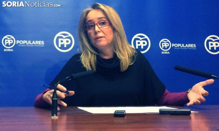María José Fuentes, concejala del PP en el Ayuntamiento de la capital. /SN