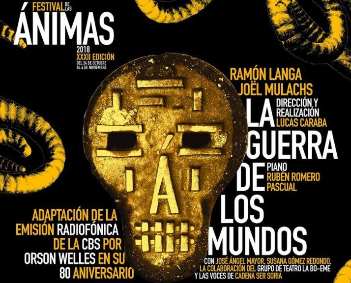 Foto 1 - Ramón Langa y Jöel Mulachs protagonizan este martes 'La Guerra de los Mundos', el primer radioteatro representado en Soria
