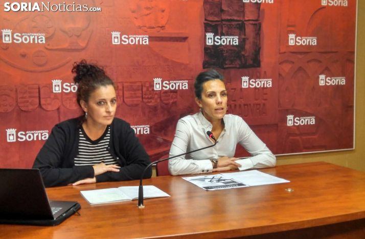 Belén Andreu e Inés Andrés.
