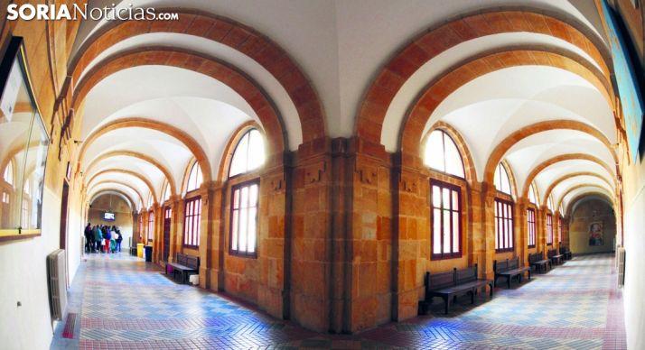 Imagen del patio interior del IES Machado. /SN