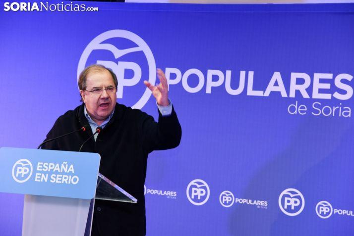 Juan Vicente Herrera, presidente de la Junta. SN