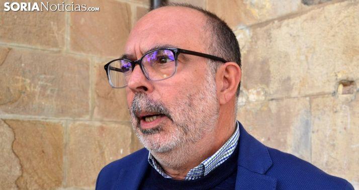 Miguel Latorre, este martes. /SN