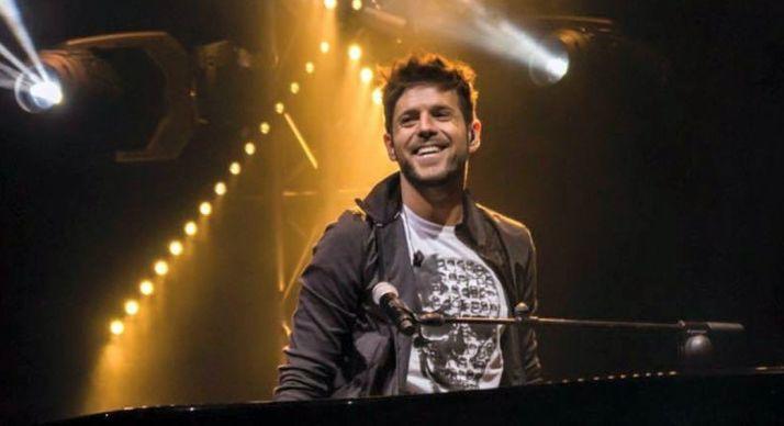 Pablo López en un concierto. Página web del cantante