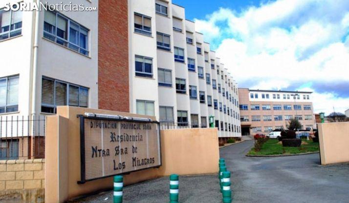 Residencia Virgen de los Milagros, en Ágreda. /SN