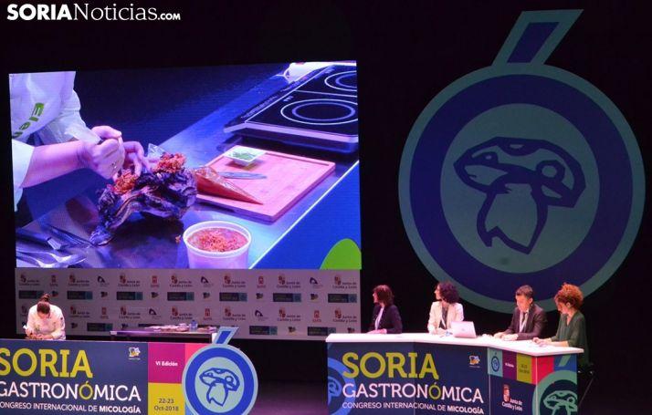 Primera ponencia de Soria Gastronómica 2018.