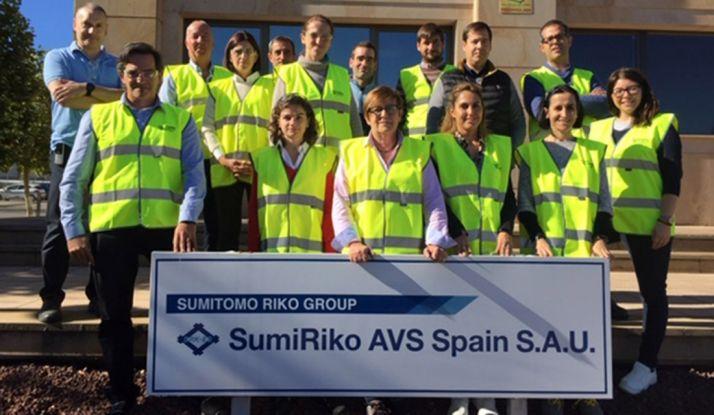 Foto 1 - Sumiriko detalla sus buenas prácticas a la Red de Técnicos de Prevención de Riesgos Laborales de Soria