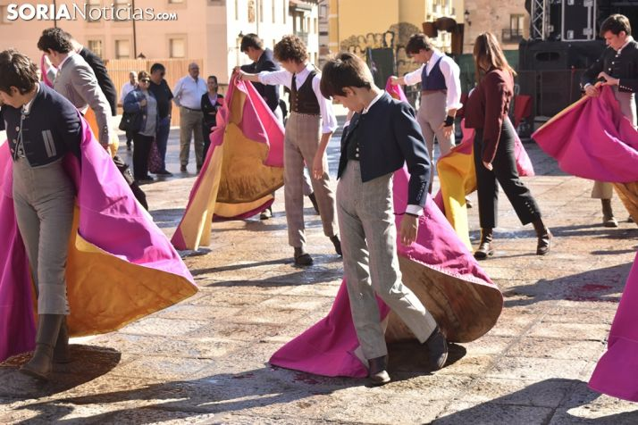 Escuela Itinerante de Tauromaquia en Soria.
