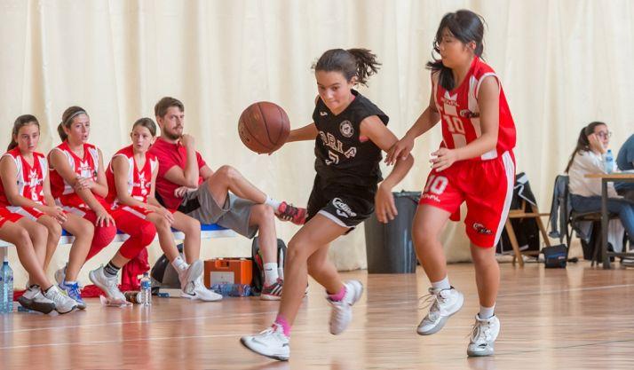 Un partido del CSB femenino. /CSB
