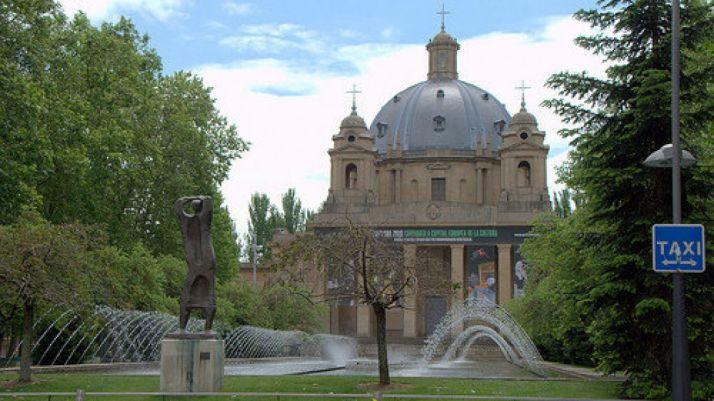 """""""Monumento a los Caídos"""" de Pamplona."""