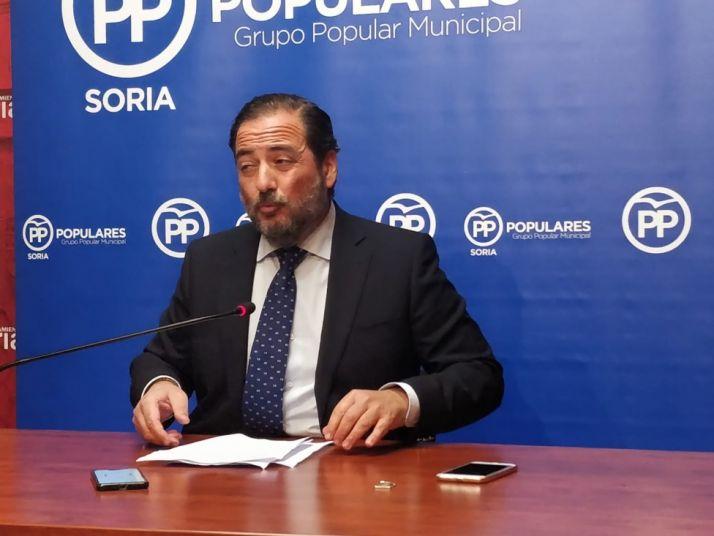 """Foto 1 - El PP considera que el nuevo plan de movilidad """"cronifica los problemas de Soria"""""""