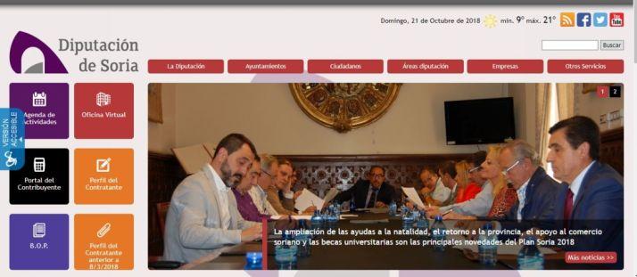 Foto 1 - 5.764 usuarios de la web de la Diputación adaptada para personas con discapacidad