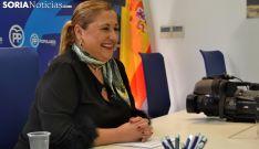 Yolanda de Gregorio, este miércoles en rueda de prensa. /SN