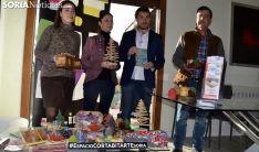 Nora Vergara, Patricia Pascual, Enrique Jiménez y Nacho Simón, este martes. /SN