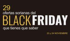 Soriacentro premia a los clientes más madrugadores del Black Friday con una copa del caballito de Soria