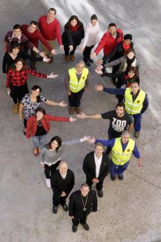 Foto 2 - Cáritas organiza una jornada de convivencia para 100 voluntarios