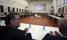 Participantes en el Consejo de Educación Abierto en Soria, este martes. /SN