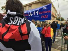 La Plataforma Soria ¡YA! reivindica la ejecución de la A-11 en Peñafiel. Plataforma Soria ¡YA!