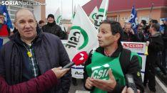 Manifestación por la nueva cárcel de Soria.