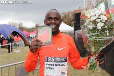 Jacob Kiplimo, campeón en el Absoluto Masculino. SN
